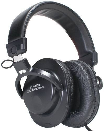 Audio-Technica ATH-M30 Stereo Headphones Closed Back