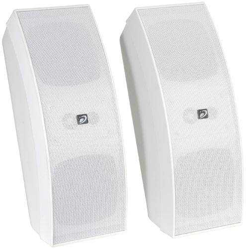 Dayton IO430WT Commercial 70V 3-Way Speaker Pair White