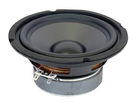 Audio Select  6 1/2'' Polypropylene Cone Woofer