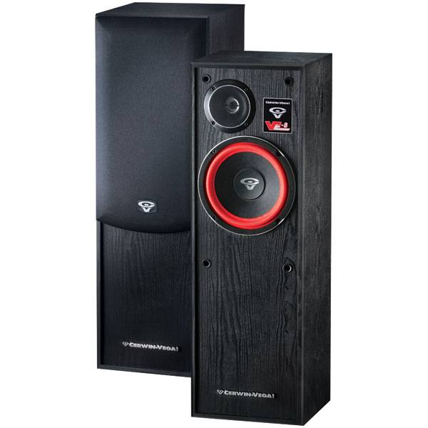 Cerwin Vega VE-8F Floor Standing Speaker 150 Watt Pair