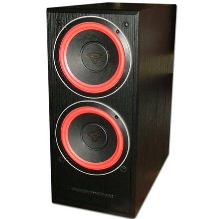 Cerwin-Vega VE-28S Dual 8in Powered Subwoofer 250 Watts