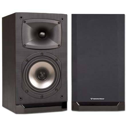 Cerwin-Vega CMX-6 6.5in 2-Way Bookshelf Speaker, pair