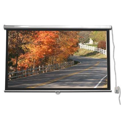 Choice Select 92in Gray Motorized Projection Screen 16:9