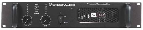Crest Pro9200 1300WPC at 8ohm Power Amp
