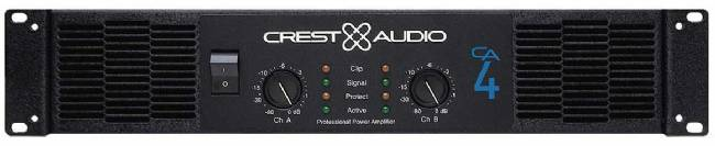 Crest CA4 Power Amp-240W@8/410W@4