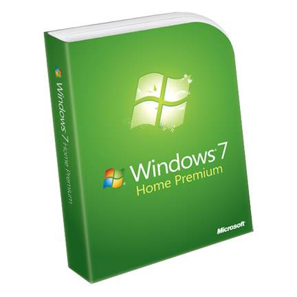 Microsoft Windows 7 Home Premium 32bit DVD