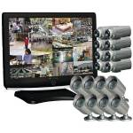 "CLOVER LCD221616 22"" All-in-One Observation System (16 Cameras)"