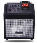 DJ Tech 50W Battery Power PA System w/ 3ch Mixer+Talkover+iPod Docking
